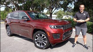 Is the 2021 Jeep Grand Cherokee L V6 a better SUV than a Kia Telluride?