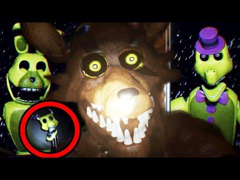 *WARNING* DONT DISTURB FOXY! || Empty: Springlocked & SOYN (FREE ROAM Five Nights at Freddys)