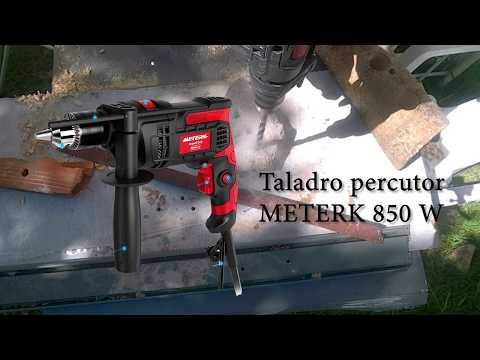 Taladro percutor con cable 850 W 3000 rpm portabrocas con llave potencia a buen precio