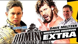 Dave Meltzer NJPW Dominion Okada vs Omega II Reaction, MITB Predictions  | The LAW