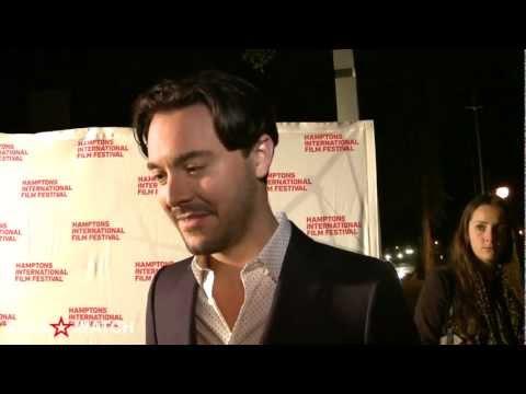 Jack Huston red carpet interview at 20th annual Hamptons International Film Festival