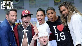 """Justice League """"Cast Reactions & Best Moments"""" SDCC Highlights (2017)"""