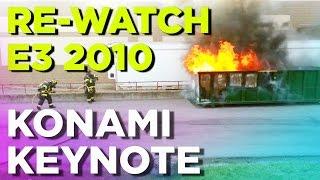 Time Warp! Re-Watch Konami's E3 2010 Keynote (360p)