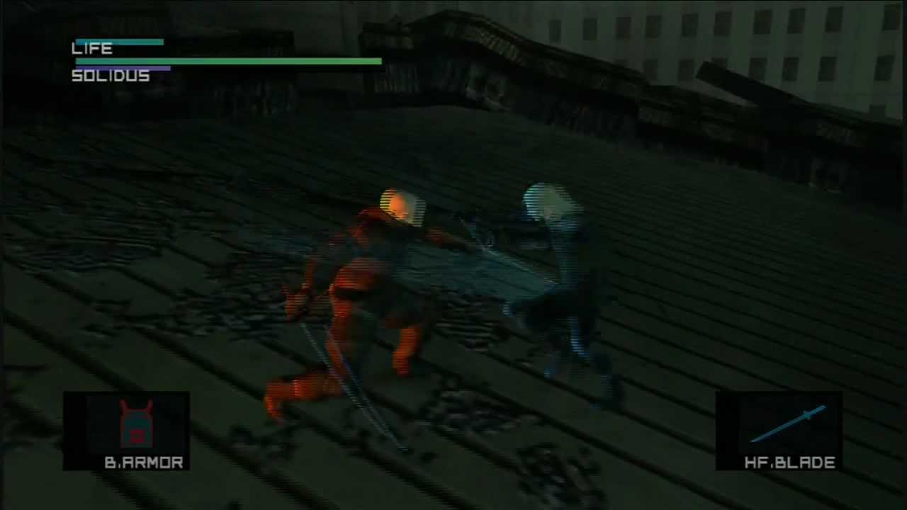 Metal Gear Solid 2 Big Boss Rank Part 15 Solidus Battle