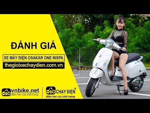 Đánh giá xe máy điện Osakar One Nispa