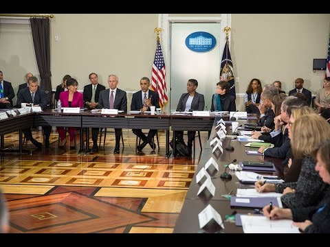 President Obama Meets with the Export Council