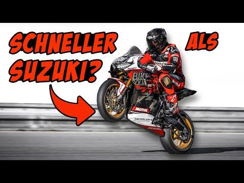 Honda Fireblade - schneller als Suzuki?! 😮