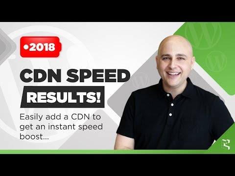 Make WordPress Faster With A CDN - Speed Results Video WOW - 동영상