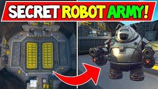 *NEW* FORTNITE SECRET ROBOT ARMY BEING BUILT?! Robot to battle Monster! - Event Season 9 Explained?