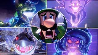 Luigi's Mansion 3 - All Bosses Battles