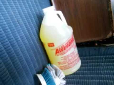 La's totally awesome carpet cleaning test results