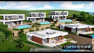 Новые современные дома и апартаменты в одном из лучших районов на Коста Бланка - Финестрат