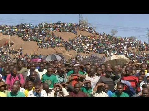 South Africa remembers tje Marikana massacre