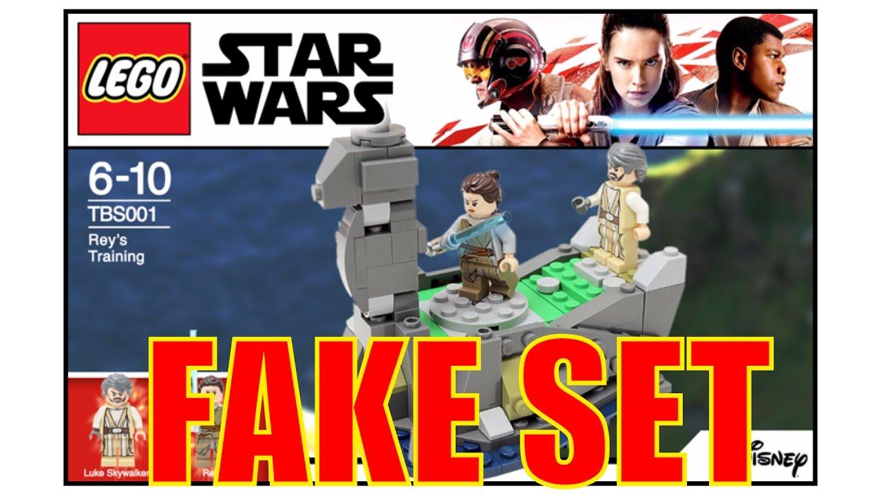 LEGO Star Wars The Last Jedi Ahch-To Island Rey Minifigure 75200