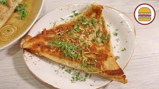 Ёка - ленивое хачапури за 5 минут. Вкусный завтрак из лаваша с сыром.