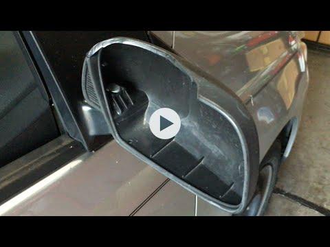 Cambiando espejo retrovisor de la puerta de pasajero for Espejo retrovisor interior