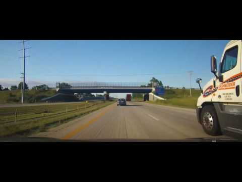 Driving on Interstate 75 from Lima, Ohio to Dayton, OH