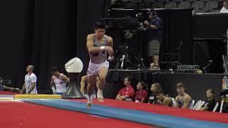 Bennet Huang - Vault – 2019 U.S. Gymnastics Championships – Senior Men Day 2