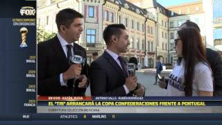 Mientras la selección puede ser vetada, Rubén Rodríguez levanta pasiones en Rusia