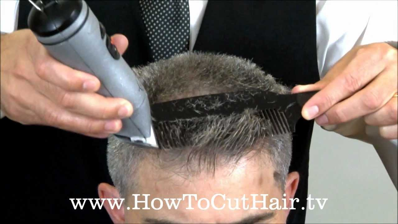 Clipper Cutting Flat Top Haircut Youtube
