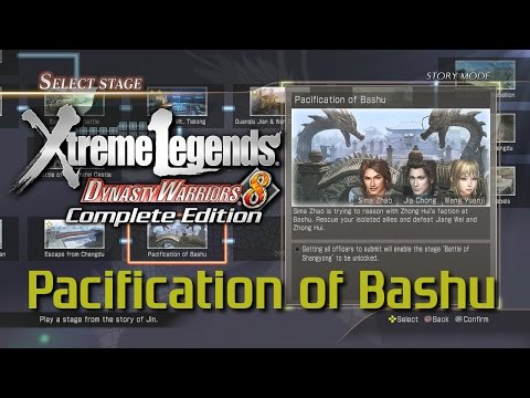 Dynasty Warriors 8 Xtreme Legends | Pacification of Bashu (Jin Xtreme Legend Stages Ep.6)