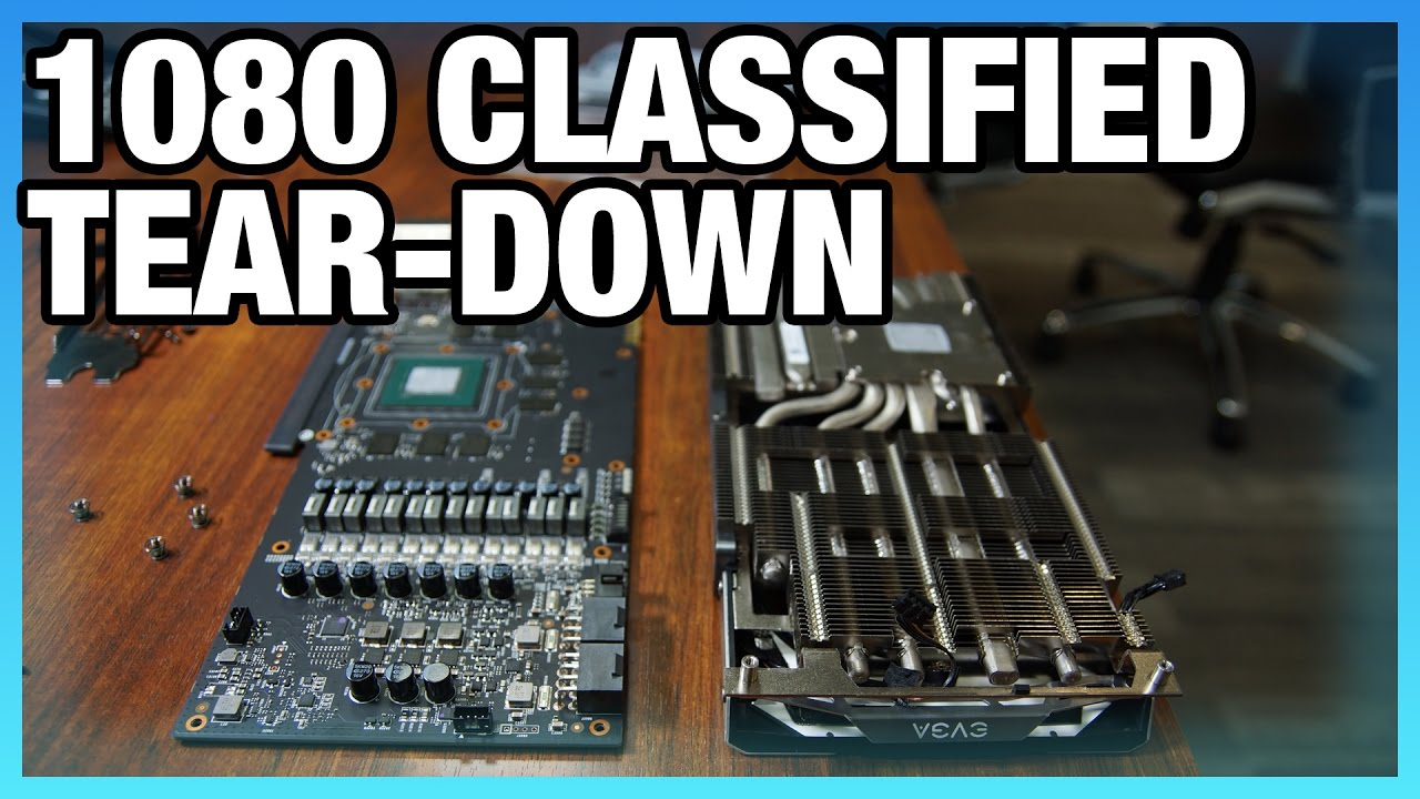 EVGA GTX 1080 Classified Tear-Down & PCB