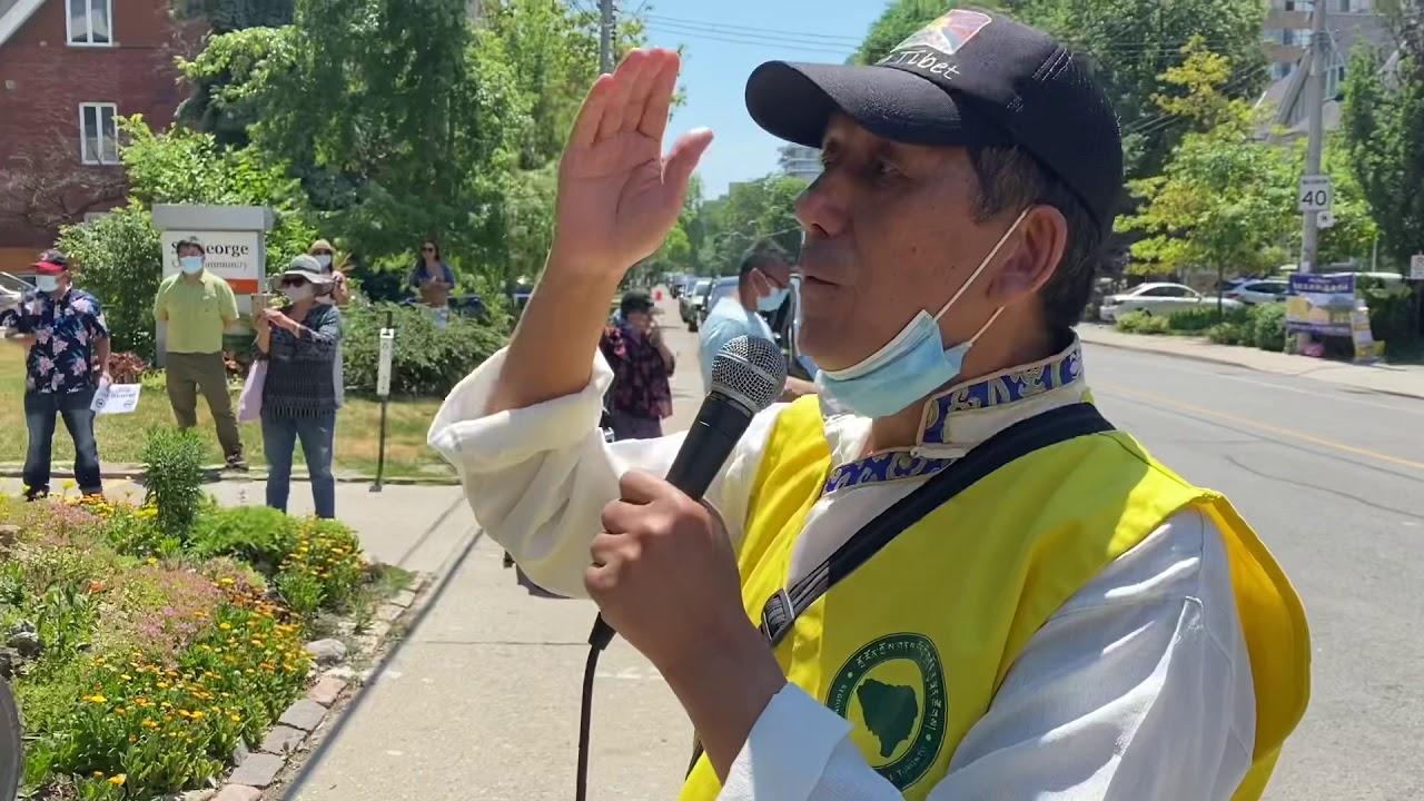 Rtyc Toronto protest 2020