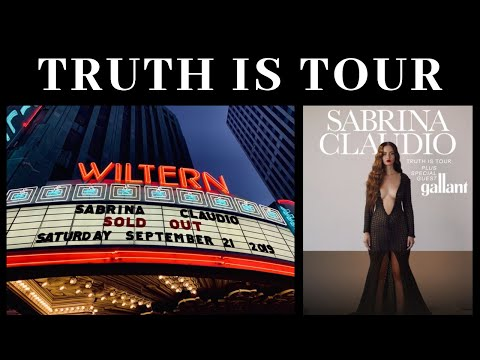 Sabrina Claudio - Truth Is Tour Live (Full Concert) Mp3