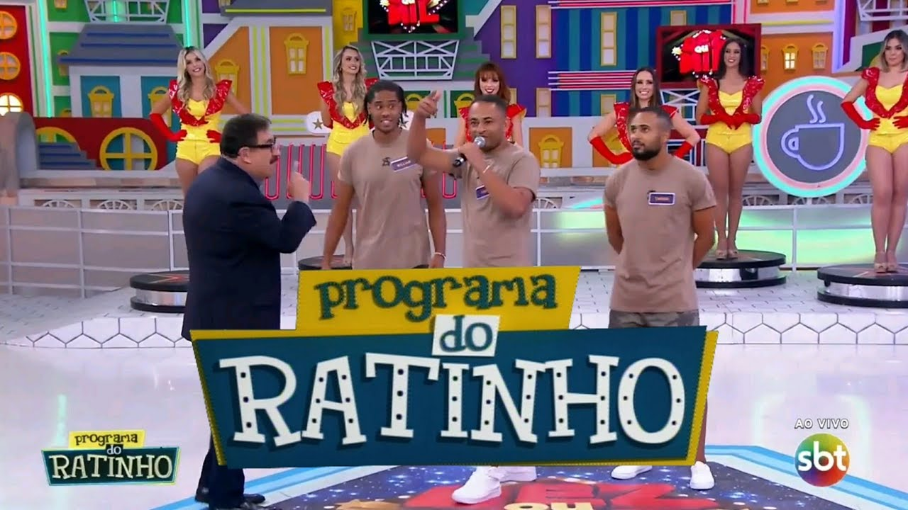 Programa do Ratinho - Dez ou Mil / Pankadão Baiano (05/08/2019)