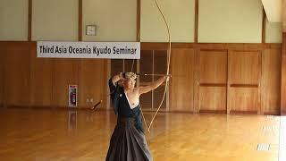 Uozumi Ichiro Hanshi 9-Dan・「The Third Asia-Oceania Kyudo Seminar」
