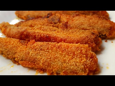 कुरकुरी बोमबील फ्राई L Crispy Bombil Fry L Bombay Duck Fry