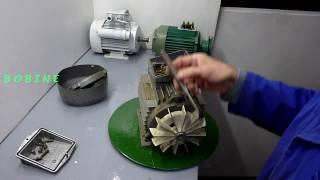 Démontage remontage moteur électrique