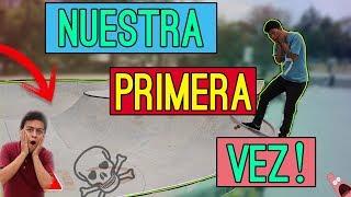 **LA PRIMERA VEZ EN UN BOWL**+ noticias  |  Vlog Skate  |  Chavez sk8
