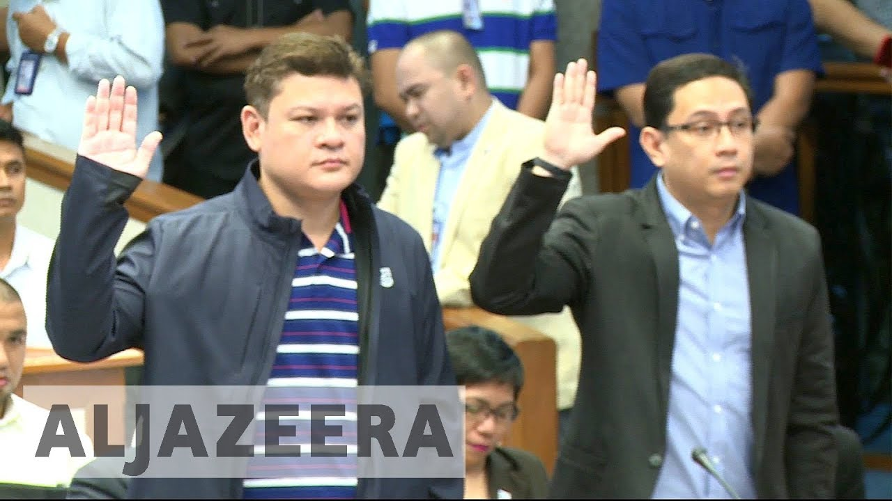 Duterte's son questioned over illegal drug smuggling