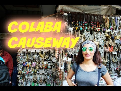 COLABA CAUSEWAY MARKET| LOCAL TRAIN | MUMBAI VLOG
