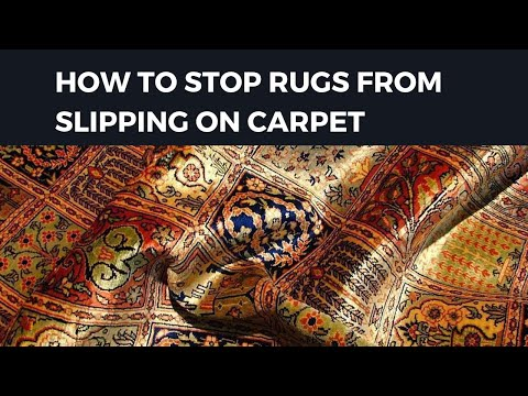 Stop Rugs from Slipping