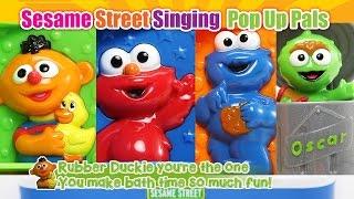 hd 1min 30sec ver sesame street singing pop up pals surprise toy nursery rhyme lyrics baby songs