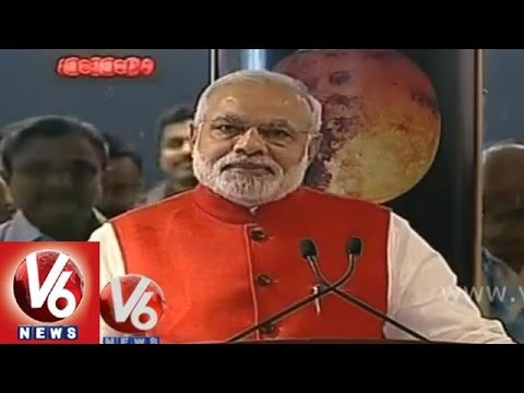 PM Modi Full Speech on success of MOM at ISRO space station