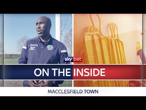 Sol's at the wheel!   On The Inside at Sol Campbell's Macclesfield