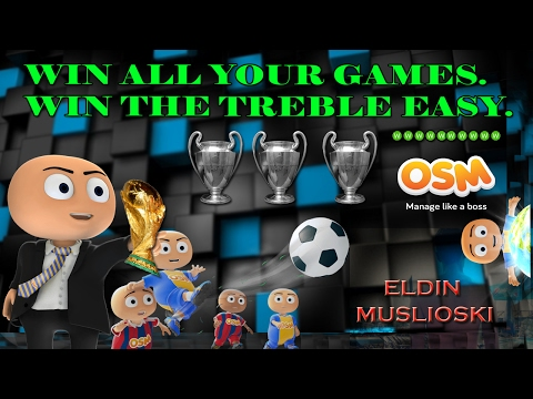 How to NEVER LOSE another game in Online Soccer Manager OSM