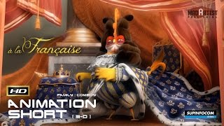 A La Française | 3D Award winning Animation - Chicks in Versailles! (Supinfocom)