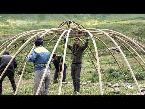 The Incredible Dome Tents of Iran, چادرهای باورنکردنی گنبد ایران ، شاهسوان آلاچیق