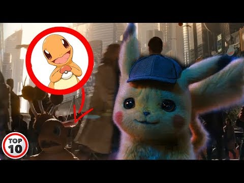 Top 10 Hidden Pokemon In The Detective Pikachu Trailer