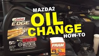 Mazda2 | Oil Change How-To