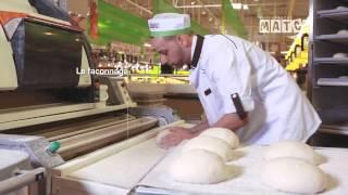 La boulangerie chez Supermarché Match