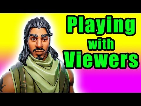 Carrying My Viewers to a Win! (Fortnite with Twitch Subs)