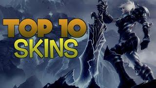 TOP 10 MEJORES SKINS   League of Legends ( Según Jacky )