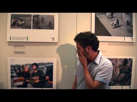 Breaking the Silence. Israelische Soldaten berichten. Führung durch die Ausstellung