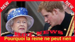 Pourquoi la reine ne peut rien refuser à Harry : les confidences d'un ancien majordome
