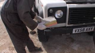 How to Service your Land Rover Defender on an expedition